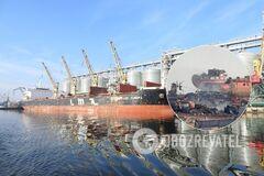 В Николаевском порту лежали тысячи тонн селитры