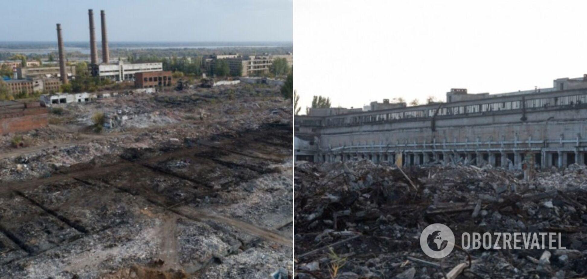 Зруйнований тракторний завод у Волгограді