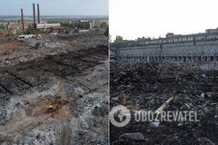 Разрушенный тракторный завод в Волгограде