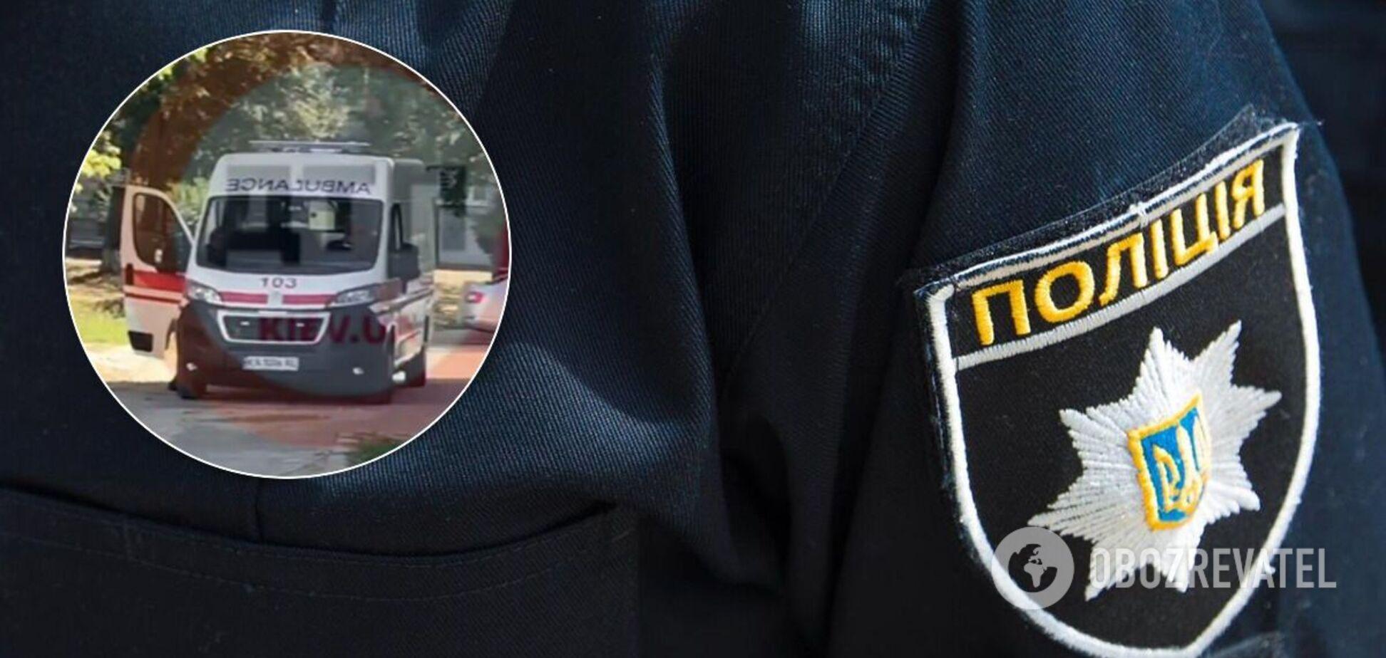 У Києві з вікна лікарні випав чоловік