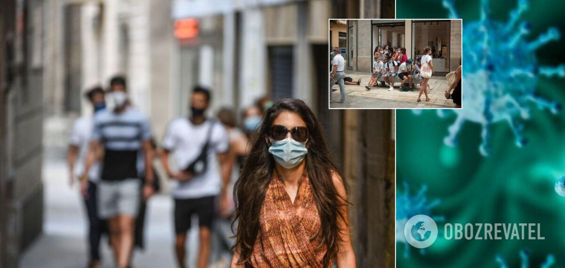 Европу накрыла вторая волна коронавируса, границы снова закрывают