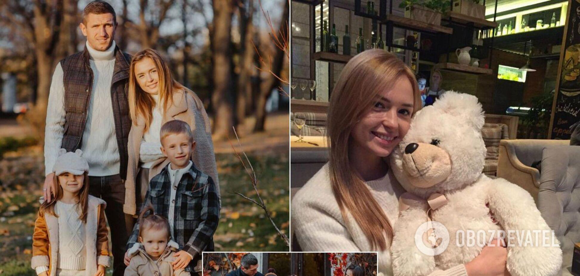 Сергей Кривцов с семьей