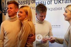 Олександр Зінченко і Влада Седан