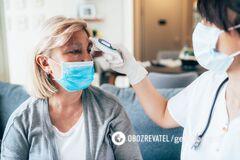 Температура тела влияет на течение коронавируса у пациентов