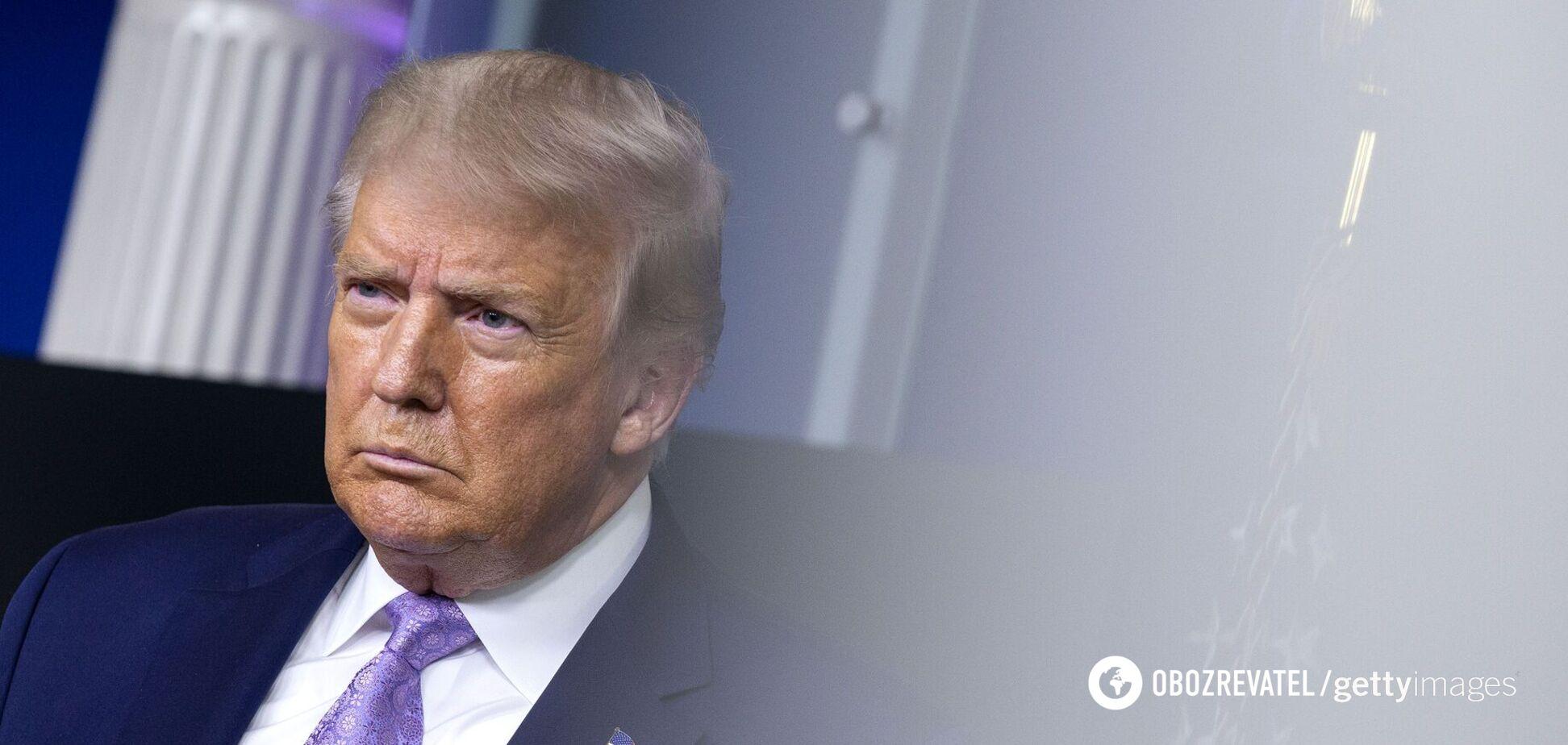 Facebook заблокировал пост Дональда Трампа