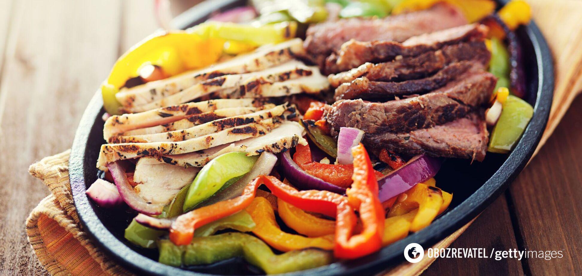 М'ясо з перцем поліпшує засвоєння заліза