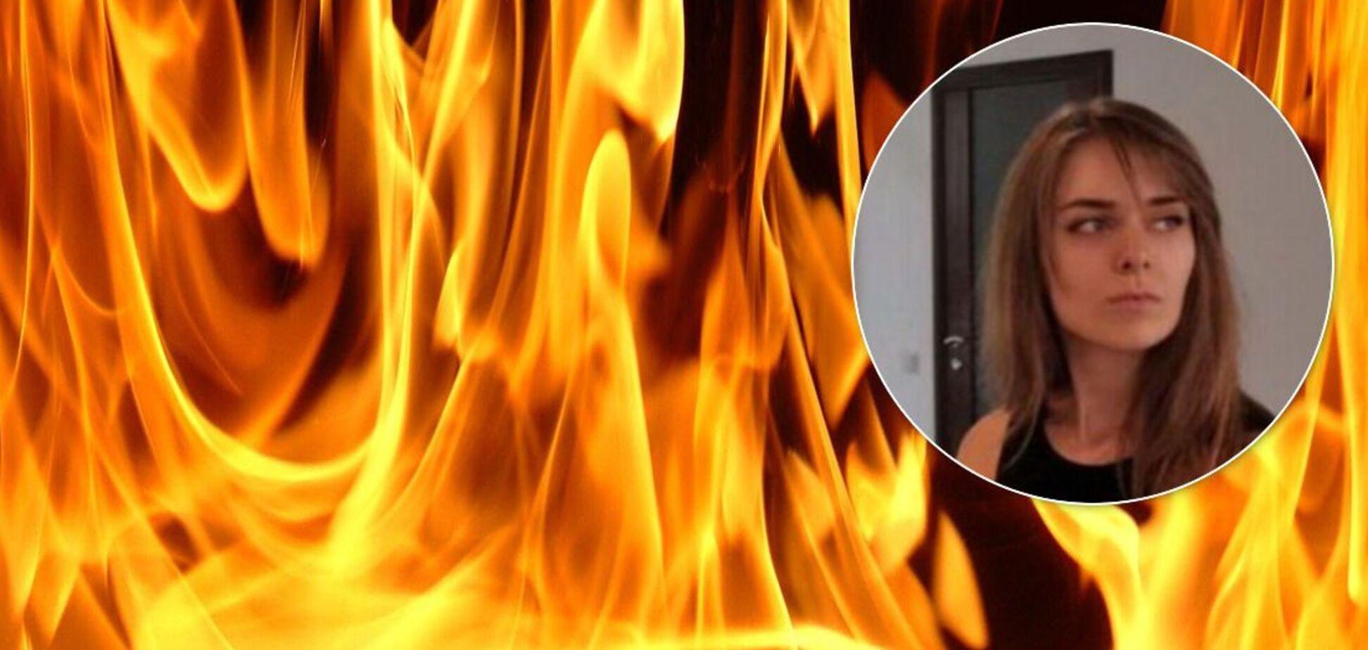 Стали відомі подробиці самоспалення дівчини біля храму в Запоріжжі