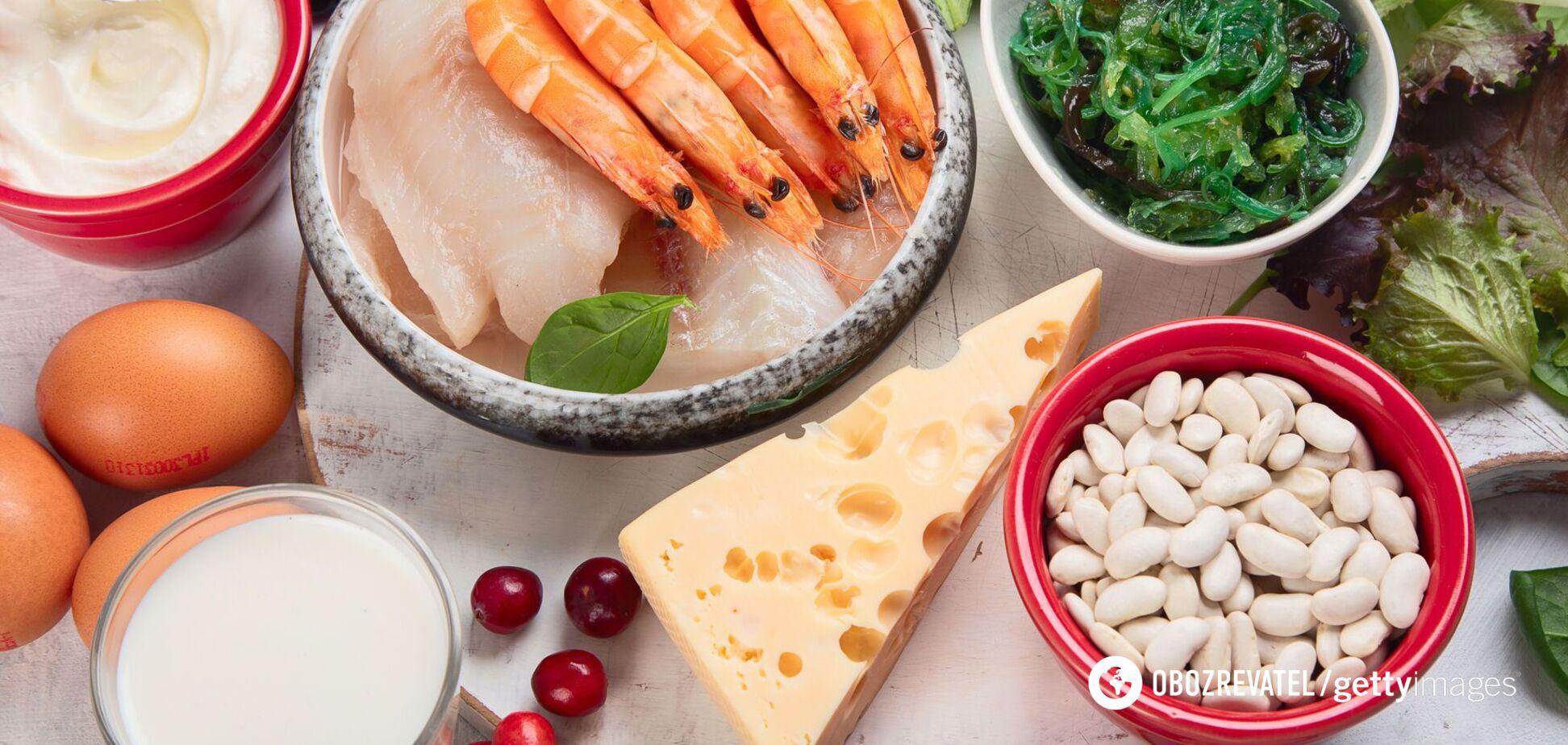 Продукты, содержащие йод, необходимы для синтеза гормонов щитовидной железы