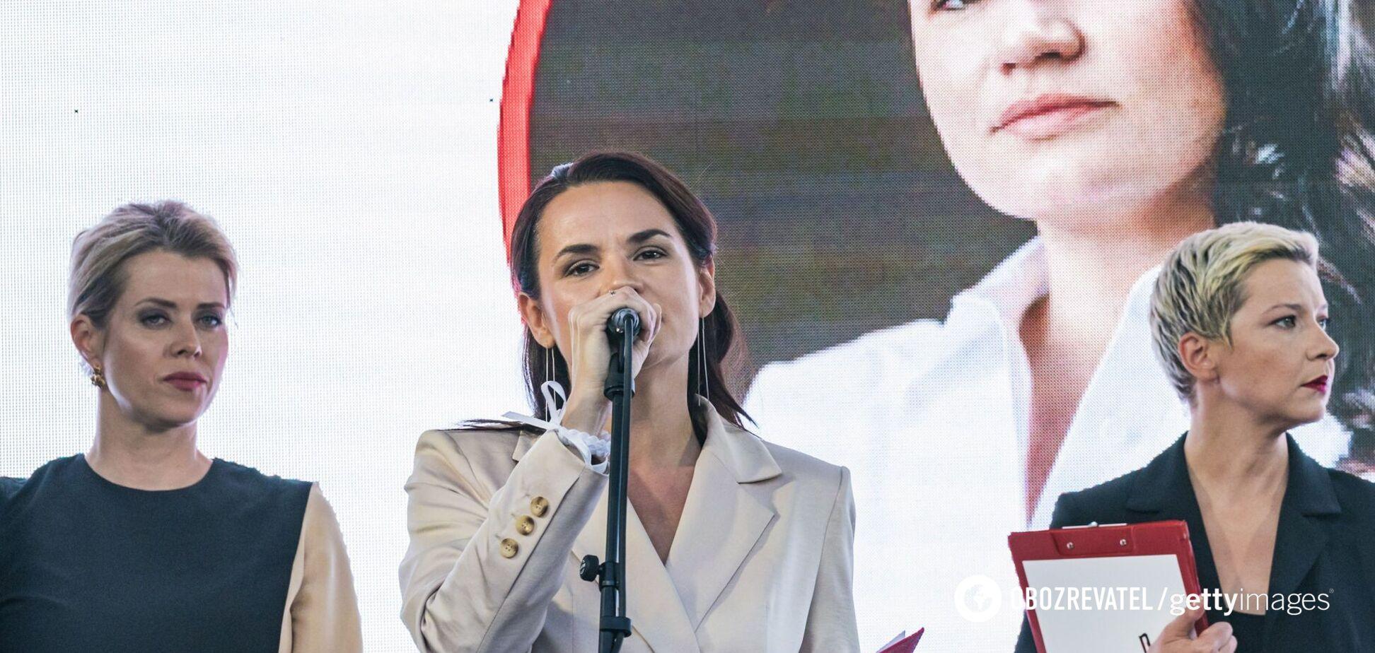 Светлана Тихановская собирает многотысячные митинги