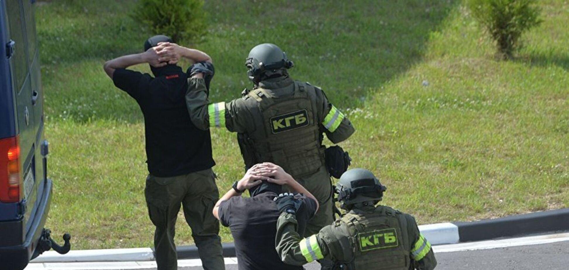 Задержание вагнеровцев в Беларуси