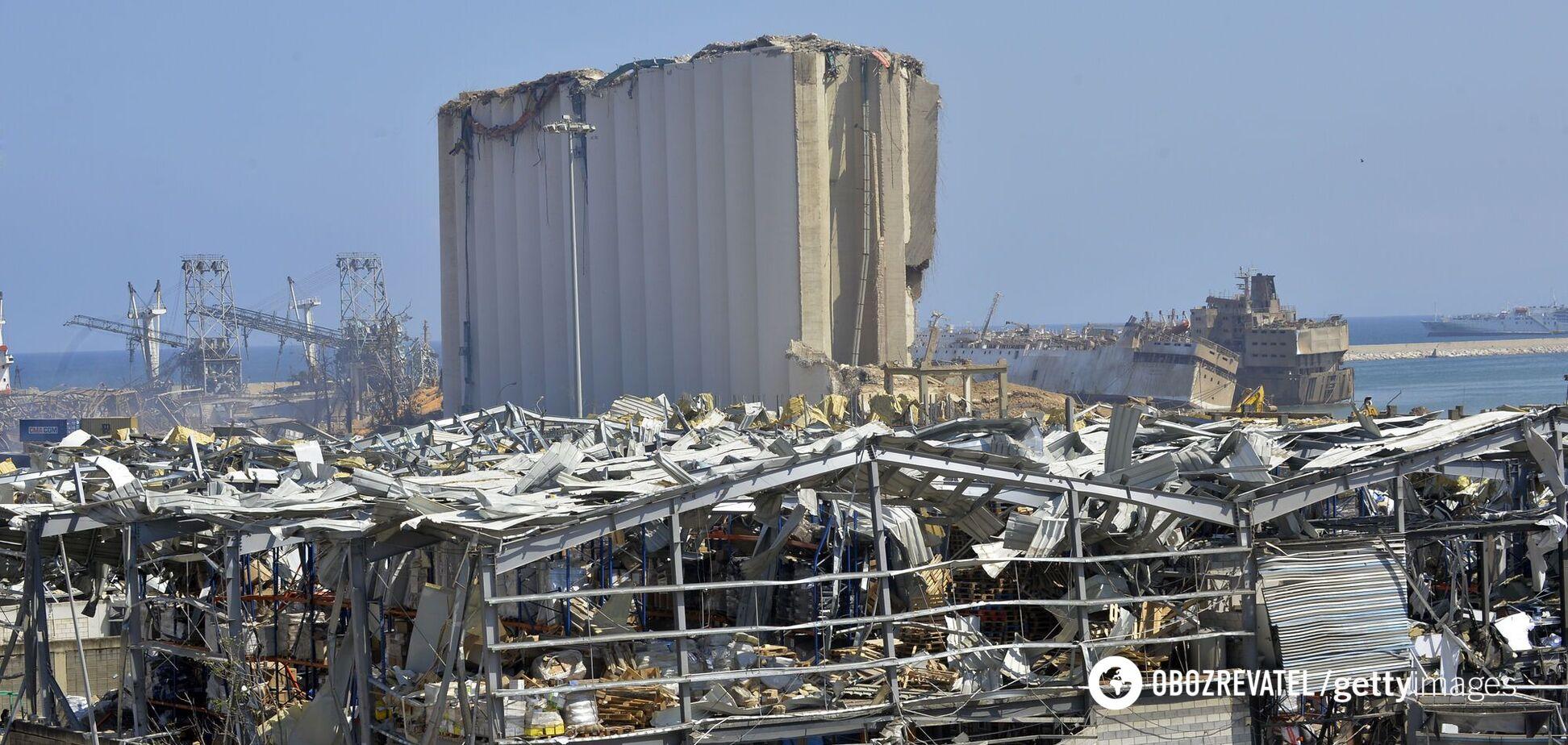 Наслідки вибухів в Бейруті
