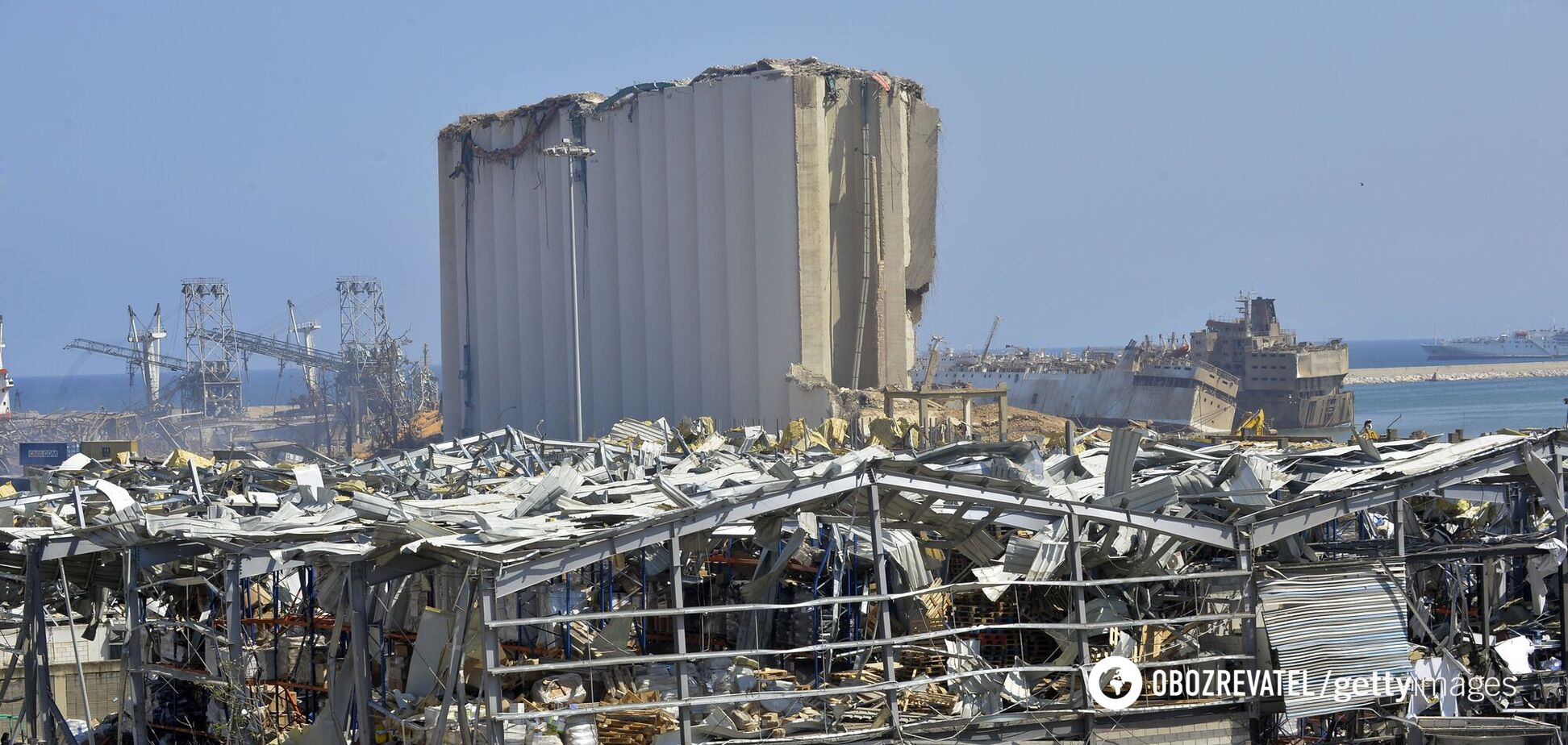 Руйнування після вибухів в Бейруті