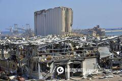 Разрушения после взрывов в Бейруте