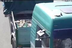В Киеве с Подольско-Воскресенского моста вывезли оборудование