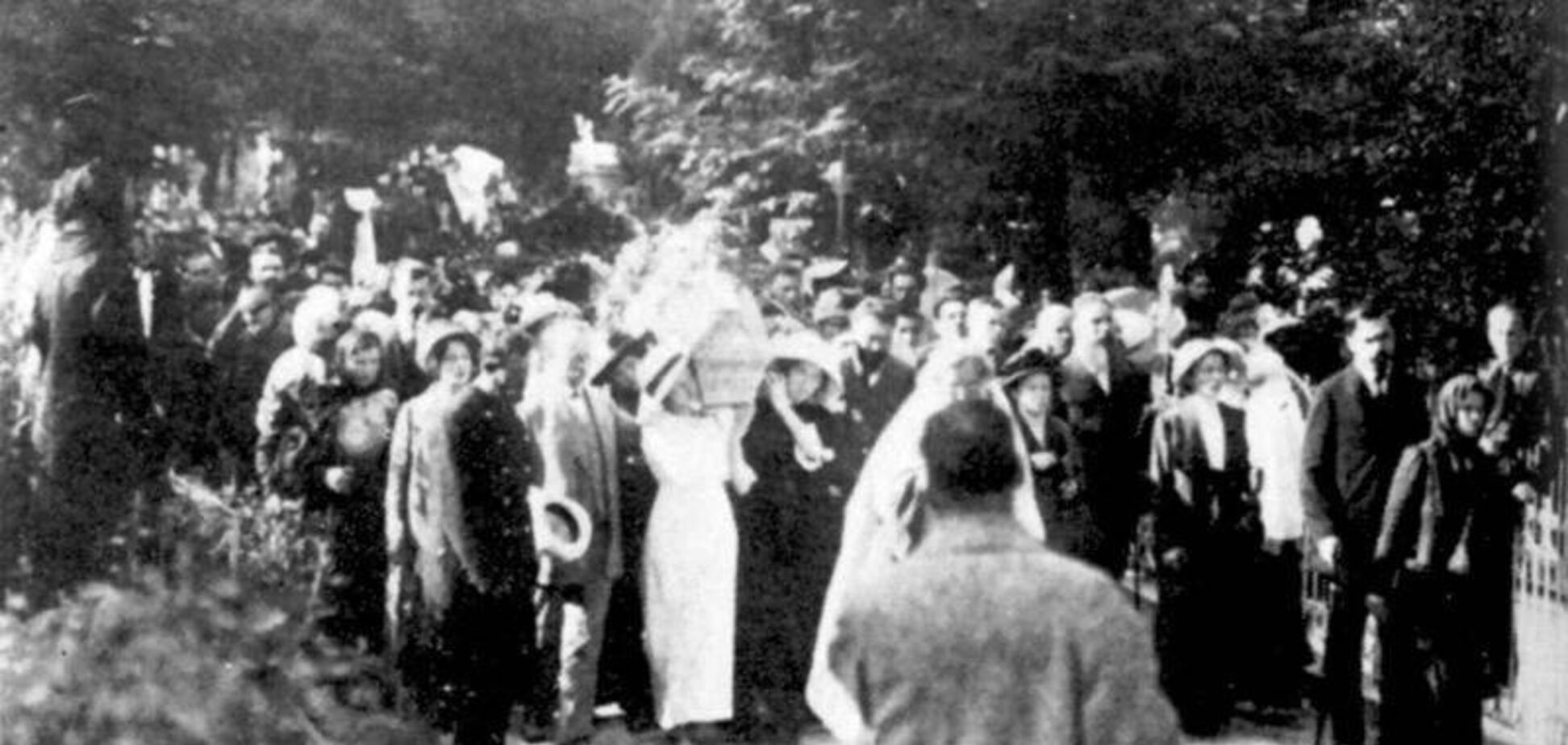 Похорон Лесі Українки у Києві