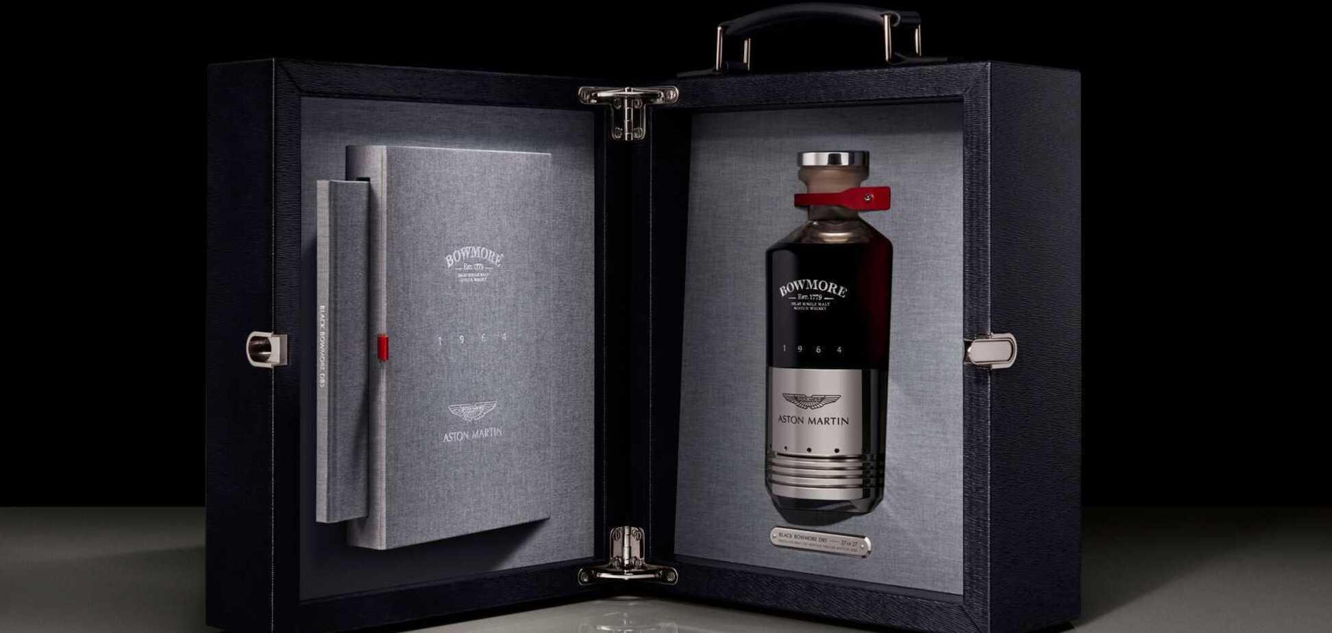 Віскі Black Bowmore DB5 1 964 – дуже дорогий алкоголь. Фото: Motor1