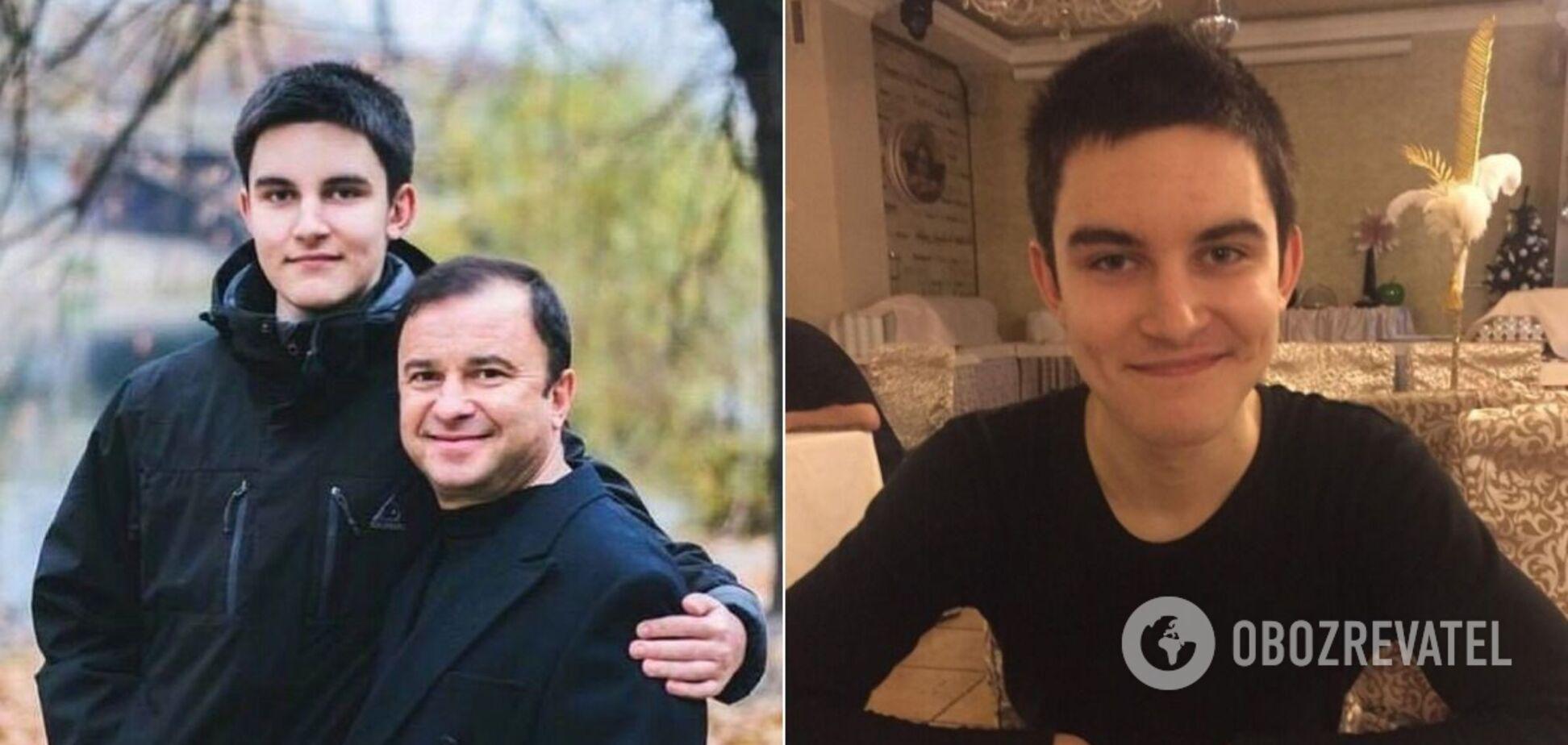 Умер 21-летний сын Виктора Павлика