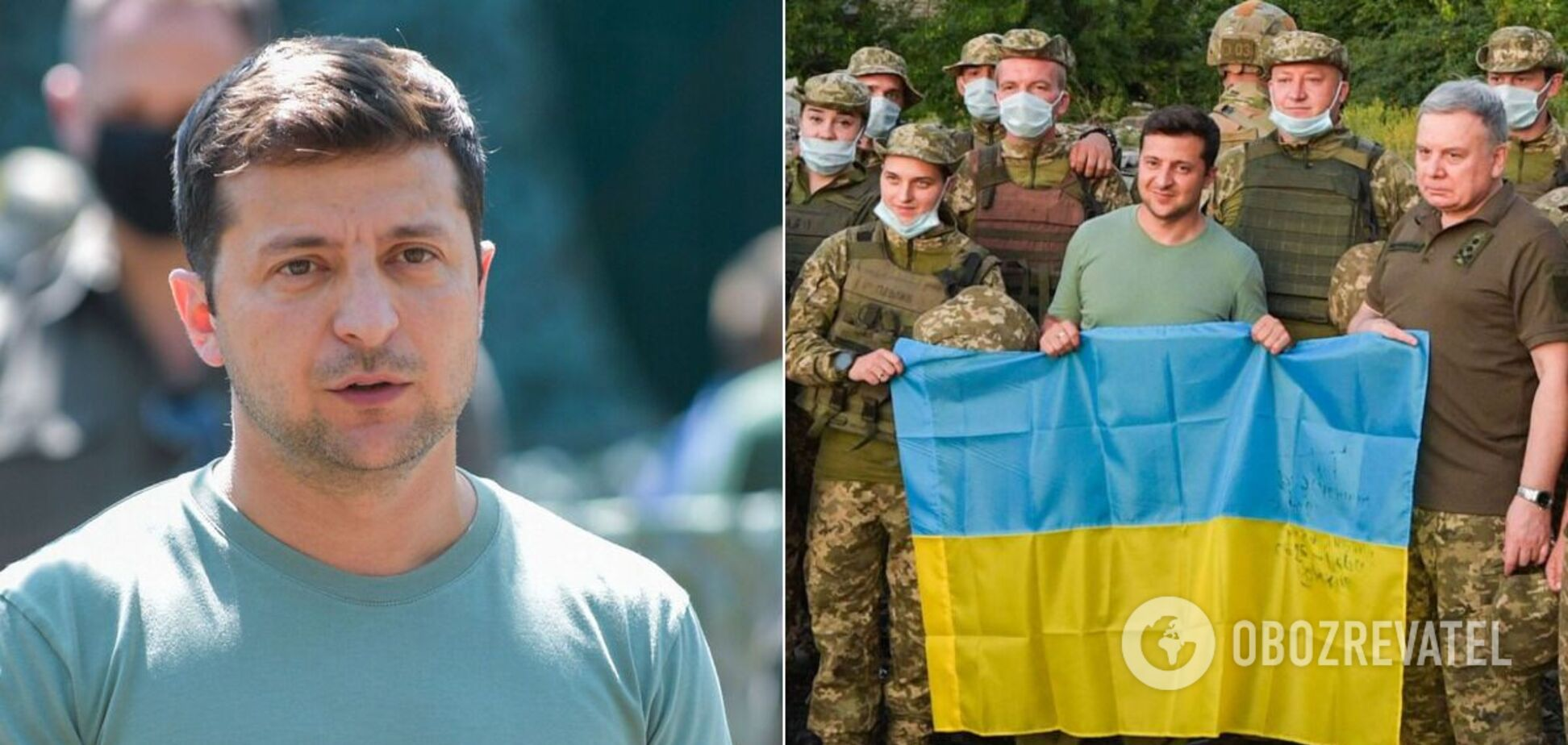 Владимир Зеленский провел два дня на Донбассе