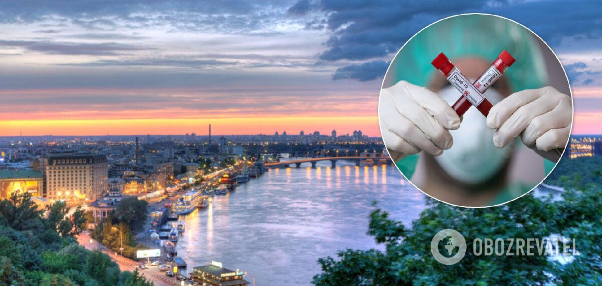 У Києві знову зафіксували велику кількість випадків COVID-19, виявлених за добу. Ілюстрація