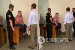 В Киеве в Офисе генпрокурора женщина пригрозила устроить самосожжение
