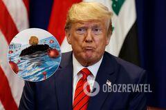 Трамп на обложке Time попал в взрывное 'море коронавируса'. Фото и видео