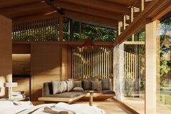 Пример экологического жилья: на Бали из картонных коробок построят настоящий дом. Фото