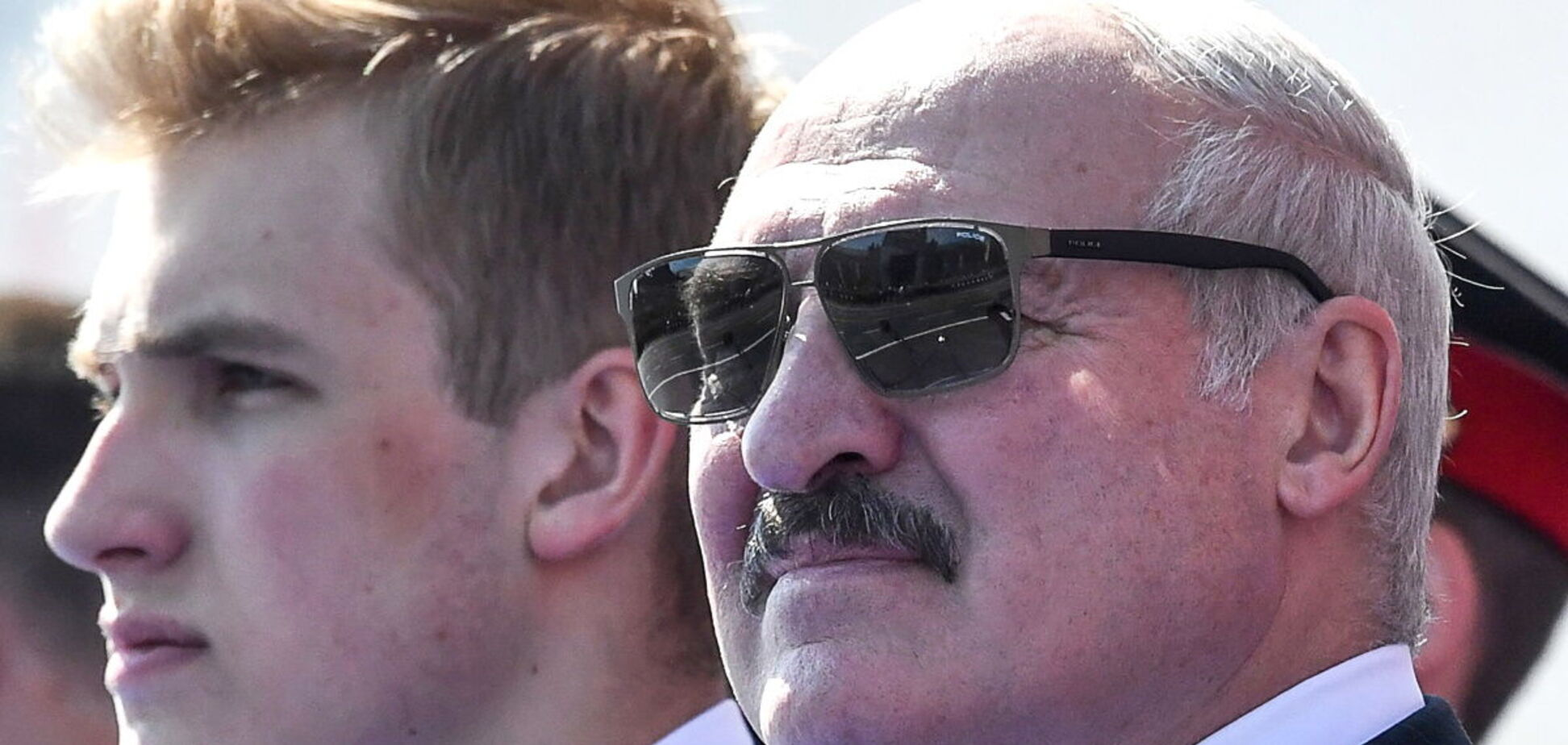 Александр Лукашенко с сыном