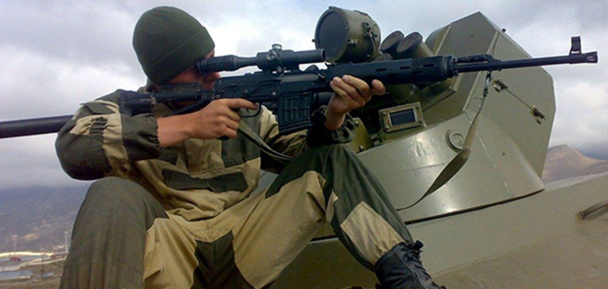 Терористи на Донбасі провели збори снайперів під час перемир'я