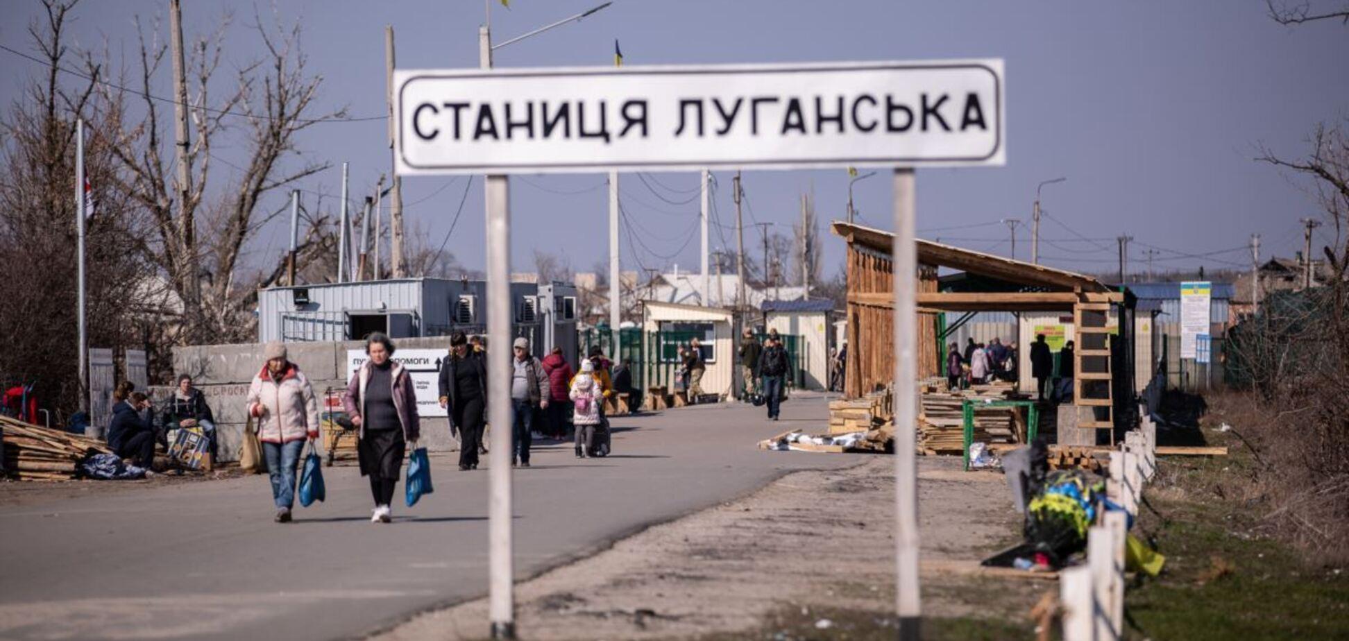 На двух КПВВ на Донбассе образовались очереди