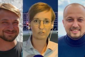 Трех журналистов задержали в Минске
