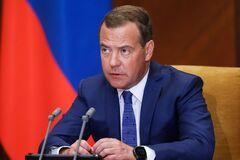 Медведев заявил, что в августе 2008 года Грузия 'объявила войну России'