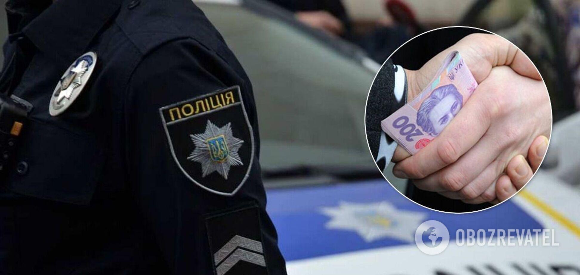 У Дніпрі затримали поліцейського-хабарника: у відділенні пройшли обшуки