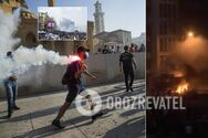 У Бейруті спалахнули криваві протести