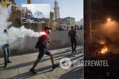 В Бейруте разгорелись кровавые протесты