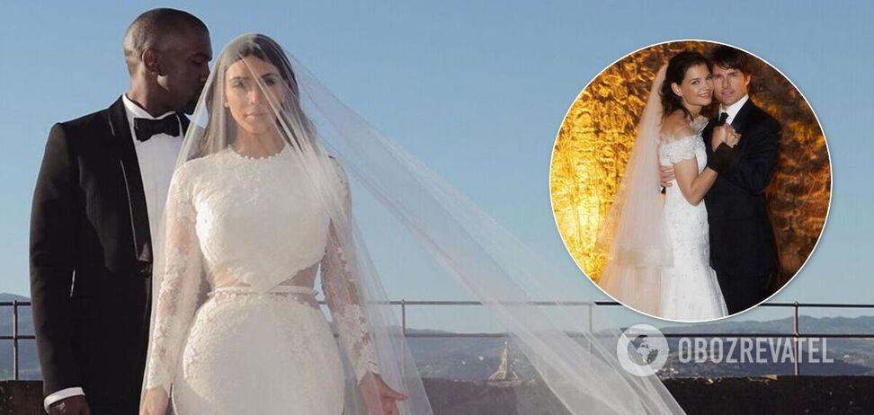 Найдорожчі весілля зірок Голлівуду: скільки коштували та де проходили