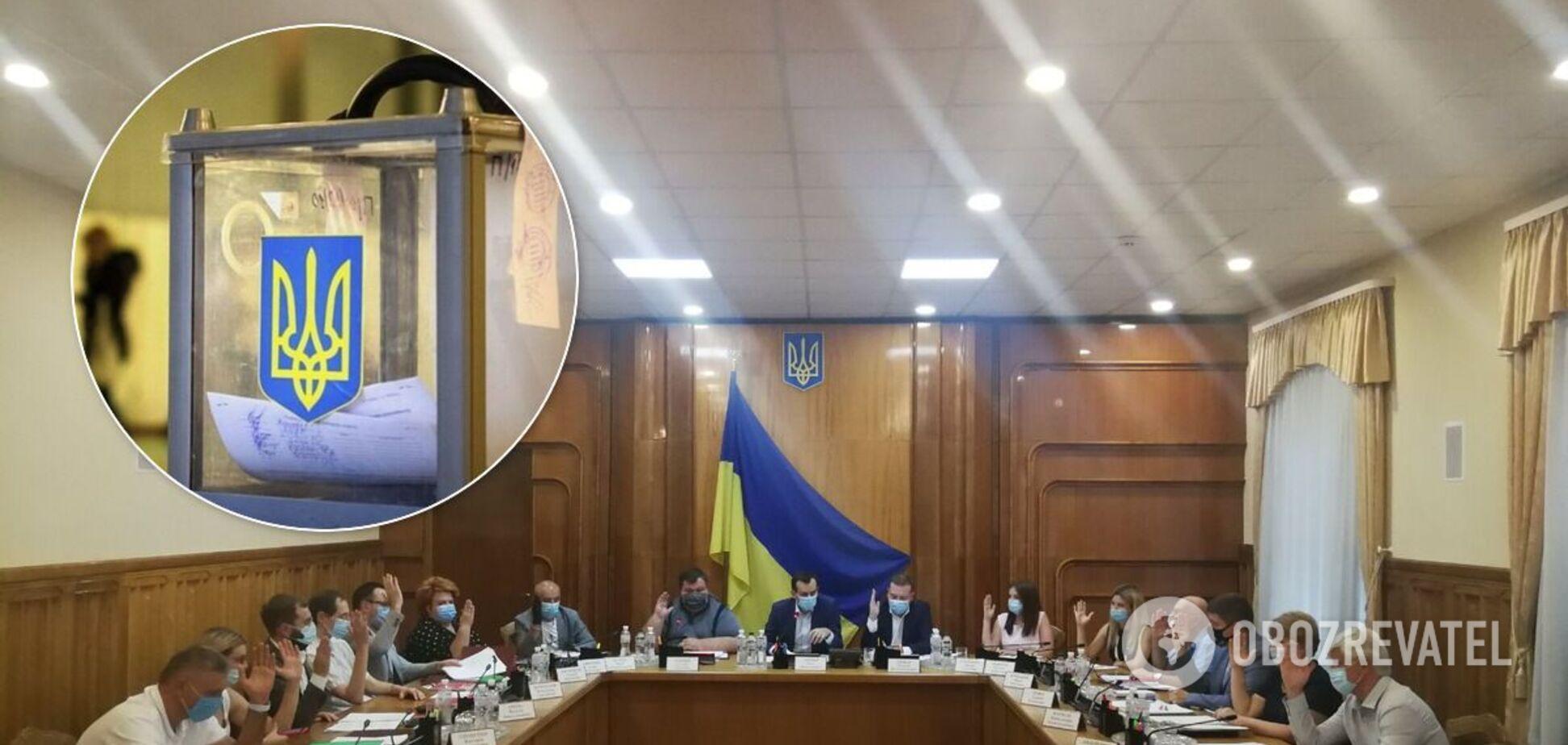 ЦИК официально назначила местные выборы на 25 октября