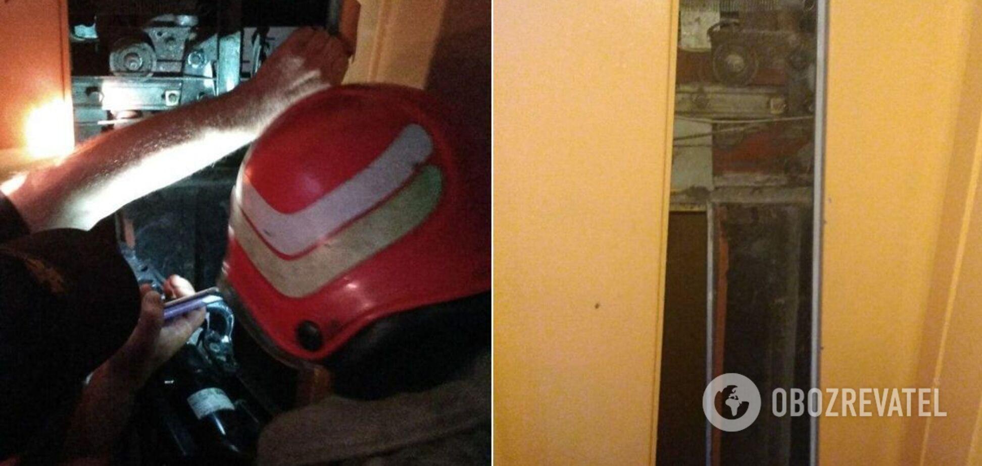 На Одещині в дев'ятиповерхівці обірвався ліфт із 10-річною дитиною. Фото