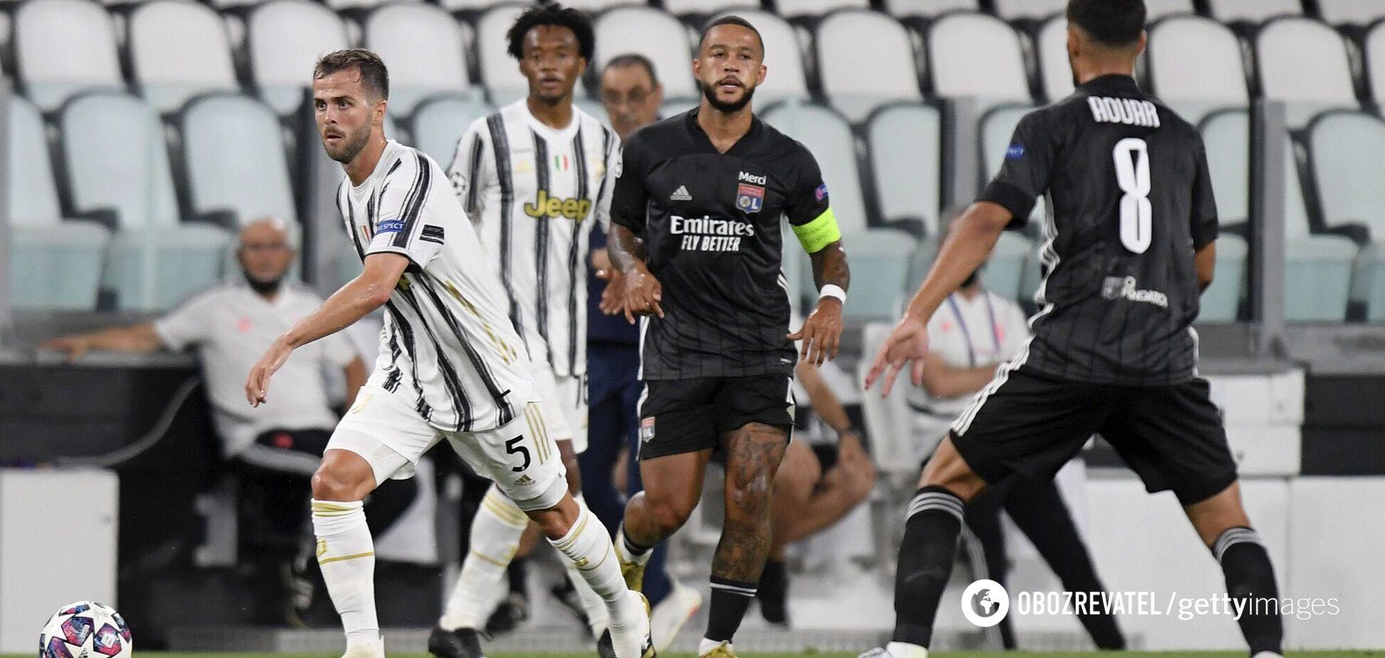 Футболіст 'Ліона' показав, що творилося в роздягальні після перемоги над 'Ювентусом'
