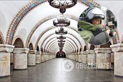 В Киеве 'заминировали' станцию метро 'Золотые ворота'