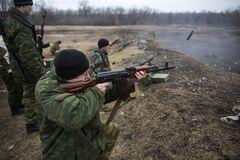 Оккупанты пять раз нарушили перемирие на Донбассе