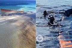 У берегов Маврикия затонул танкер