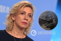 Захарова считает, что война на Донбассе – это 'украинский вопрос'