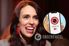 Прем'єрка Нової Зеландії Джасінда Ардерн поборола коронавірус в країні