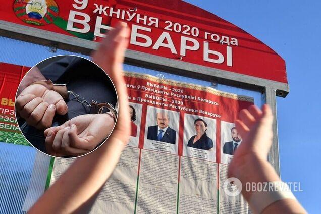В Беларуси начались задержания, протесты разгоняют Иллюстрация
