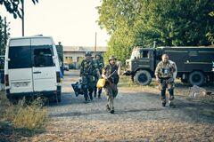 В августе 2014 года украинские военные оказались в окружении в Иловайске