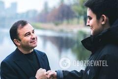 Віктора Павлик із сином Павлом
