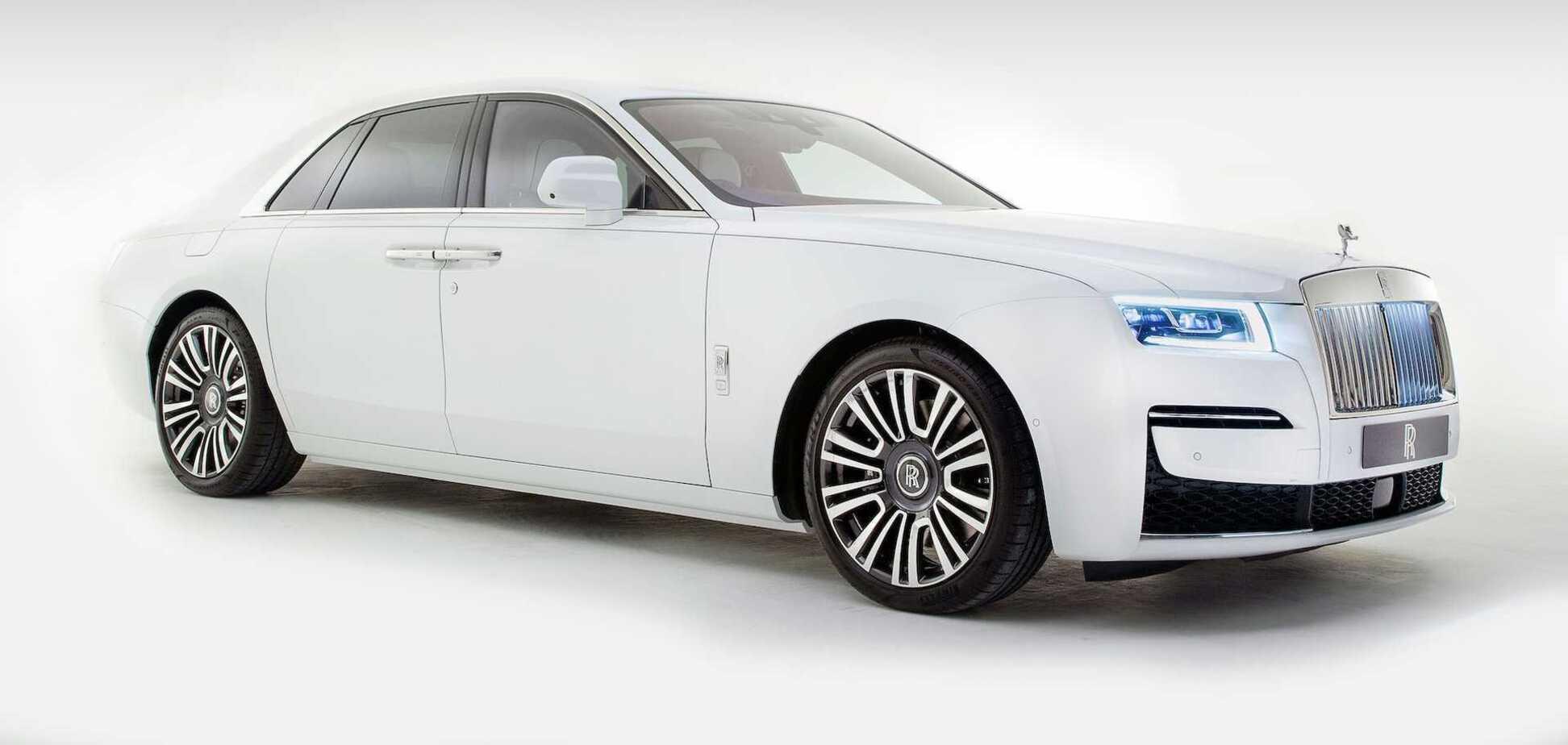 Новий Rolls-Royce Ghost в базовій комплектації обійдеться в $330 000. Фото: Rolls-Royce