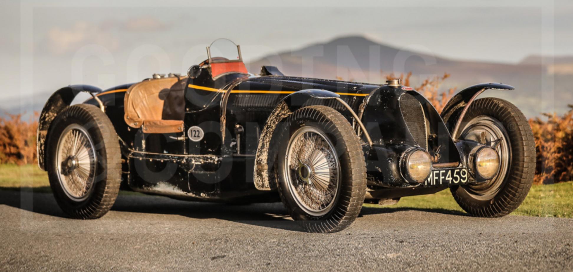 Bugatti Type 59 створений у 1934 році. Фото: goodingco.com