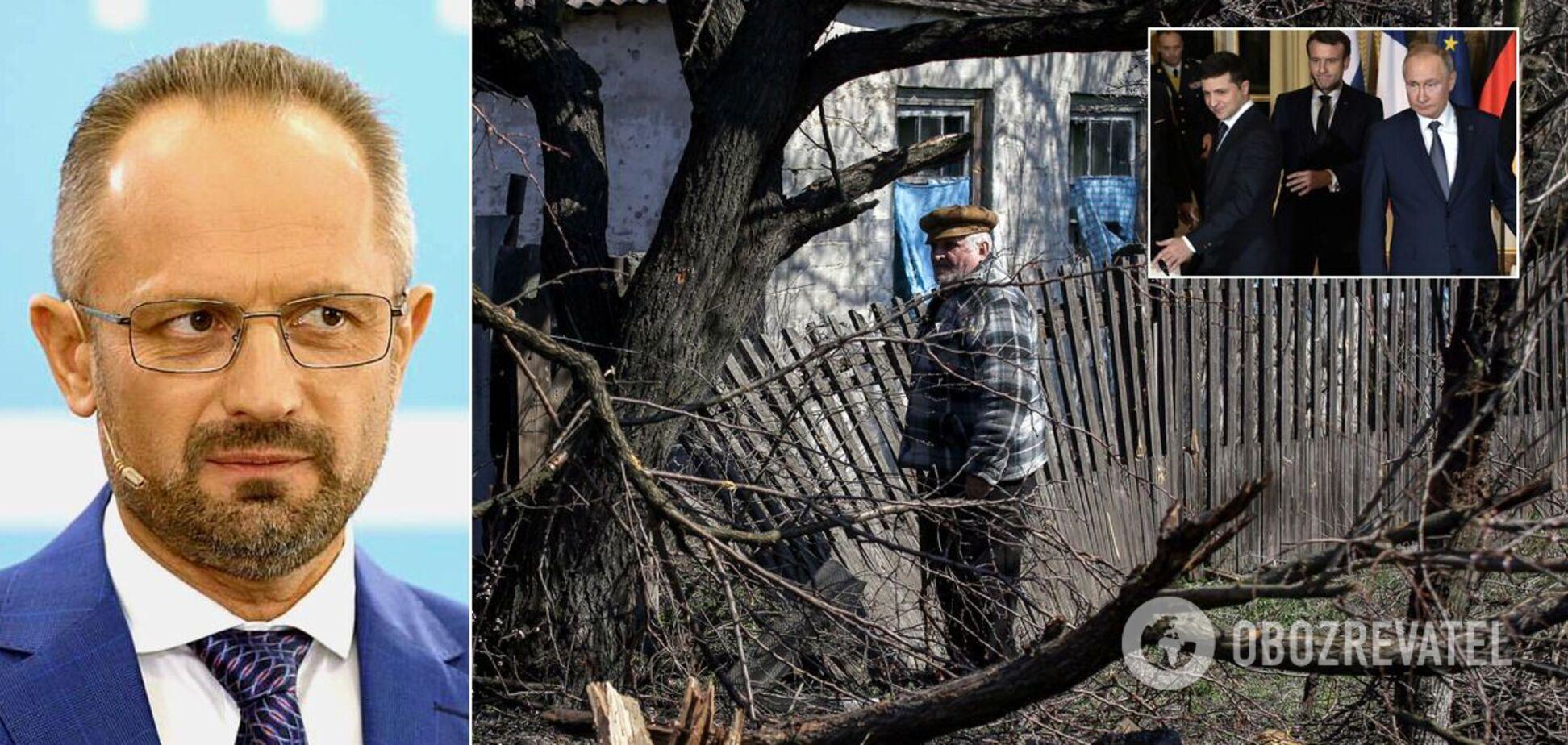 Безсмертний: реінтеграція Донбасу неможлива, прогинатися перед Путіним небезпечно