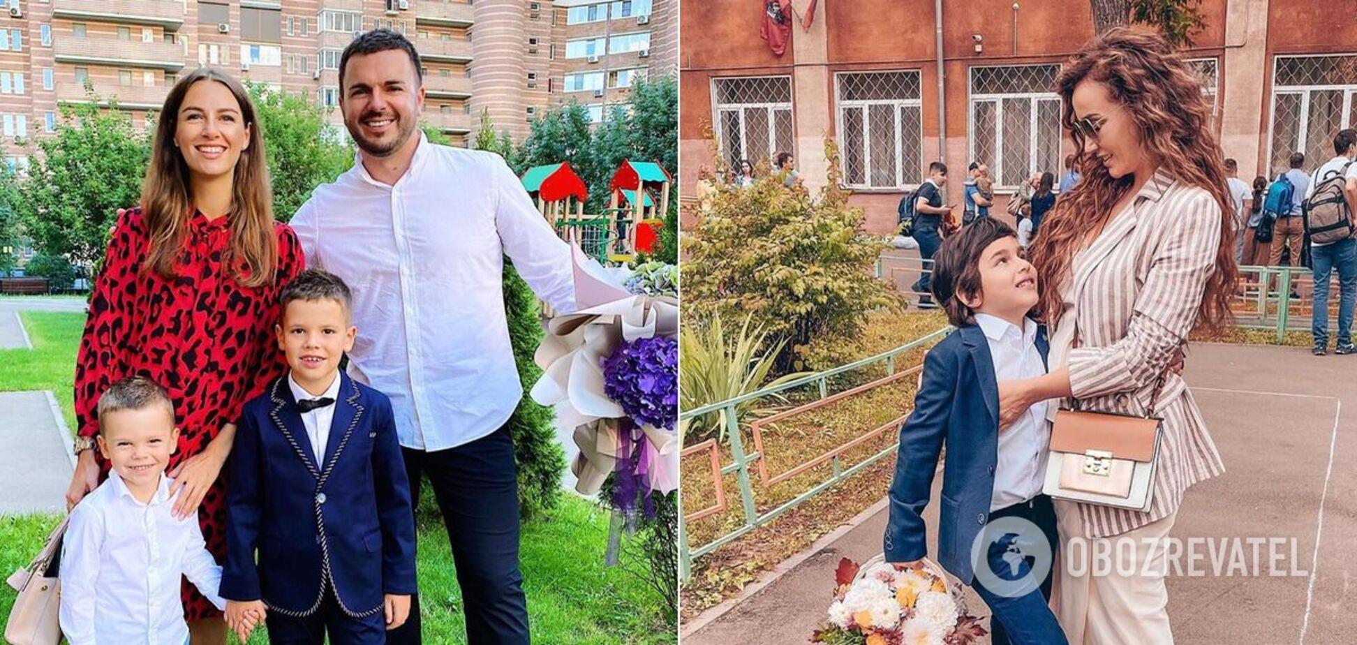 Решетник, Чехова, Борисова и другие: как знаменитости повели детей в школу. Фото